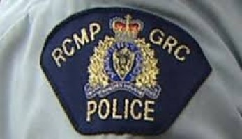 RCMP LOGO ON SHIRT