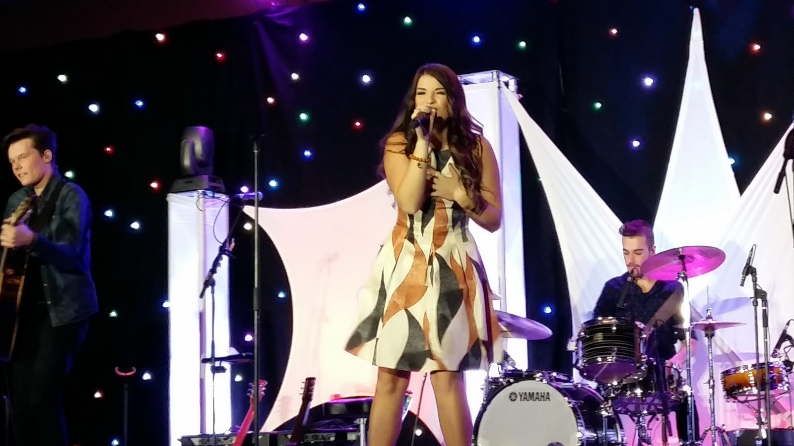 CCMA Female Vocalist, Jess Moskaluke at the STARS GALA.