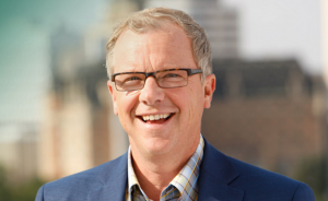 Saskatchewan Premier Brad Wall won a third straight majority government in the provincial election on Monday