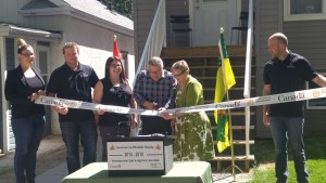 New Housing Ribbon Cutting