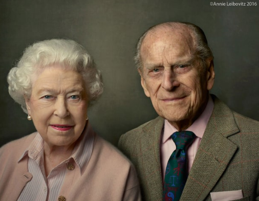The Queen and The Duke of Edinburgh The Queen and The Duke of Edinburgh © 2016 Annie Leibovitz