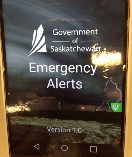 how to turn off canada emergency alerts