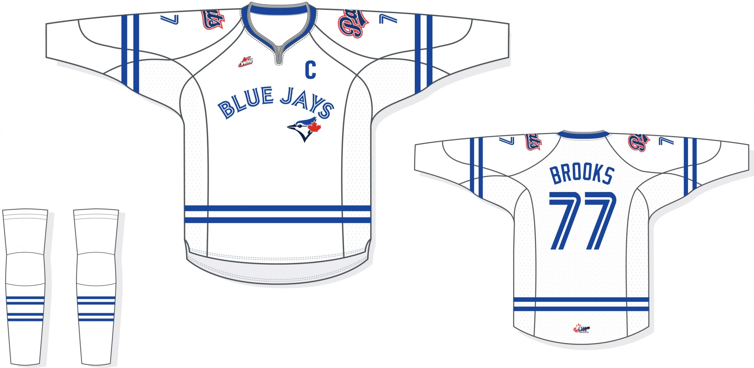 best service bd970 19573 Regina Pats to wear Toronto Blue Jays jerseys for January ...