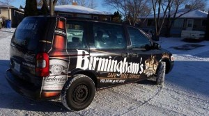 Birmingham's Vodka and Ale House in Regina has launched a free safe ride service for its customers. (Courtesy: Birmingham's Vodka and Ale House Facebook)
