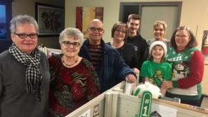 The 2016 MS Musical Christmas Card volunteers.