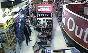 Suspect #1 caught on camera. (Humbolt Home Hardware)