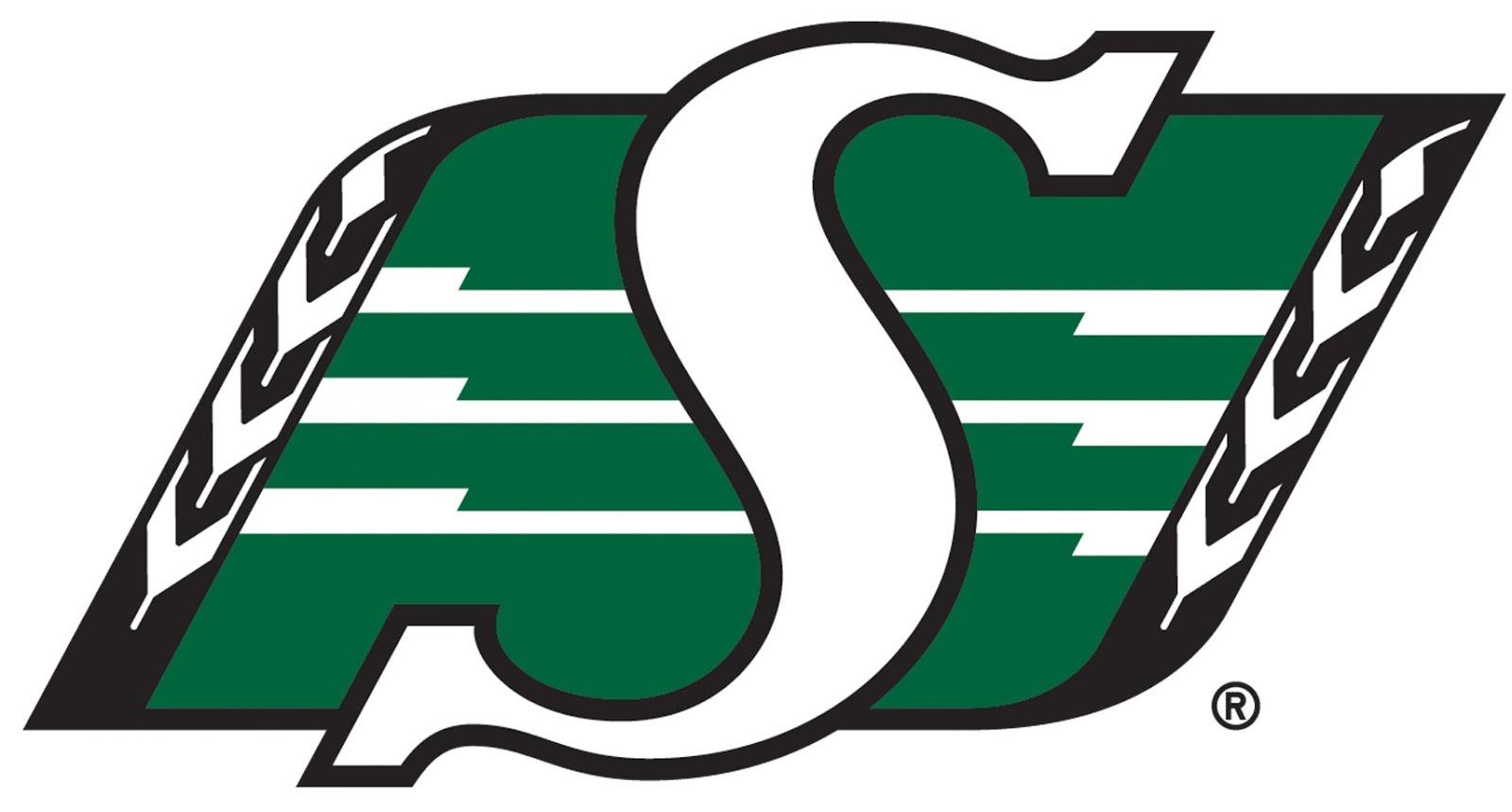 Saskatchewan Roughriders Emblem  Decal Sticker Die cut